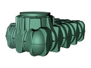 Garantia Green Li-Lo Flat Underground Tank