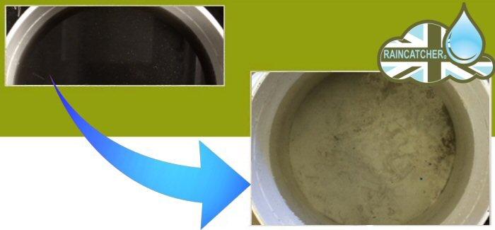 RainCatcher Rainwater Harvesting System Maintenance - Before & After