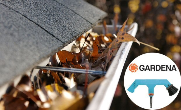 Gardena Gutter Cleaner - Leafy Gutters