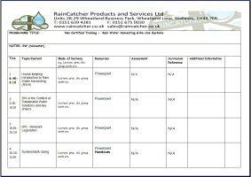 RainCatcher - Training Guide