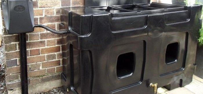 RainCatcher - Rainwater Harvesting Tank Install