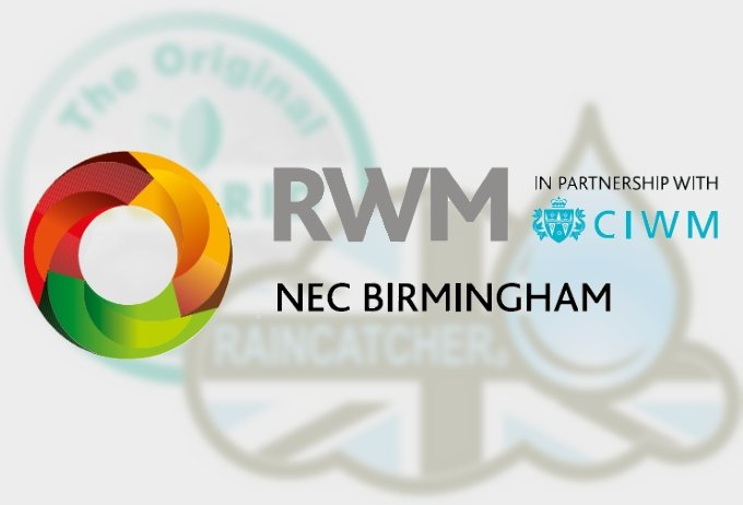 Join RainCatcher & EcoGrid at RWM 2016 Exhibition, NEC Birmingham