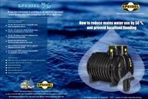 RainCatcher Speidel 50/50 - New Brochure