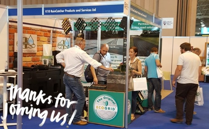 RainCatcher Blog - Successful RWM Exhibition!