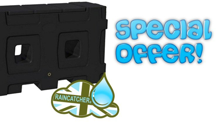 Special Offer: RainCatcher 750L Rainwater Tank – £299 Including VAT & Delivery!